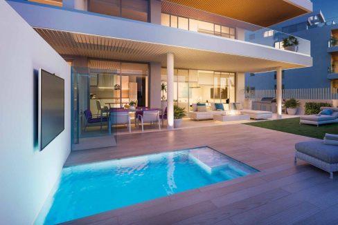 Apartamentos de lujo en la Cala de Mijas