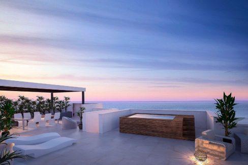 Apartamentos de nueva construcción con ubicación única en Fuengirola, Málaga, España