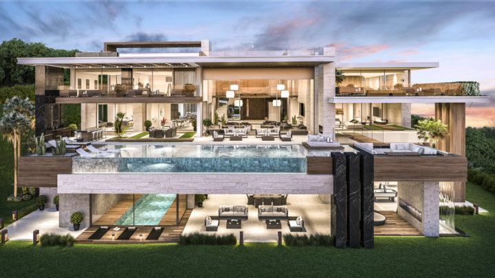 fassade-villa-minimalistischen-stil