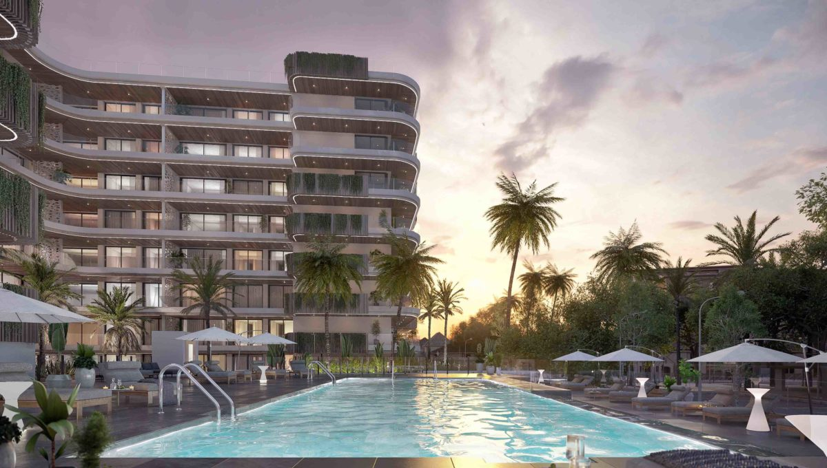 sunset-in-a-new-development-in-fuengirola-centre