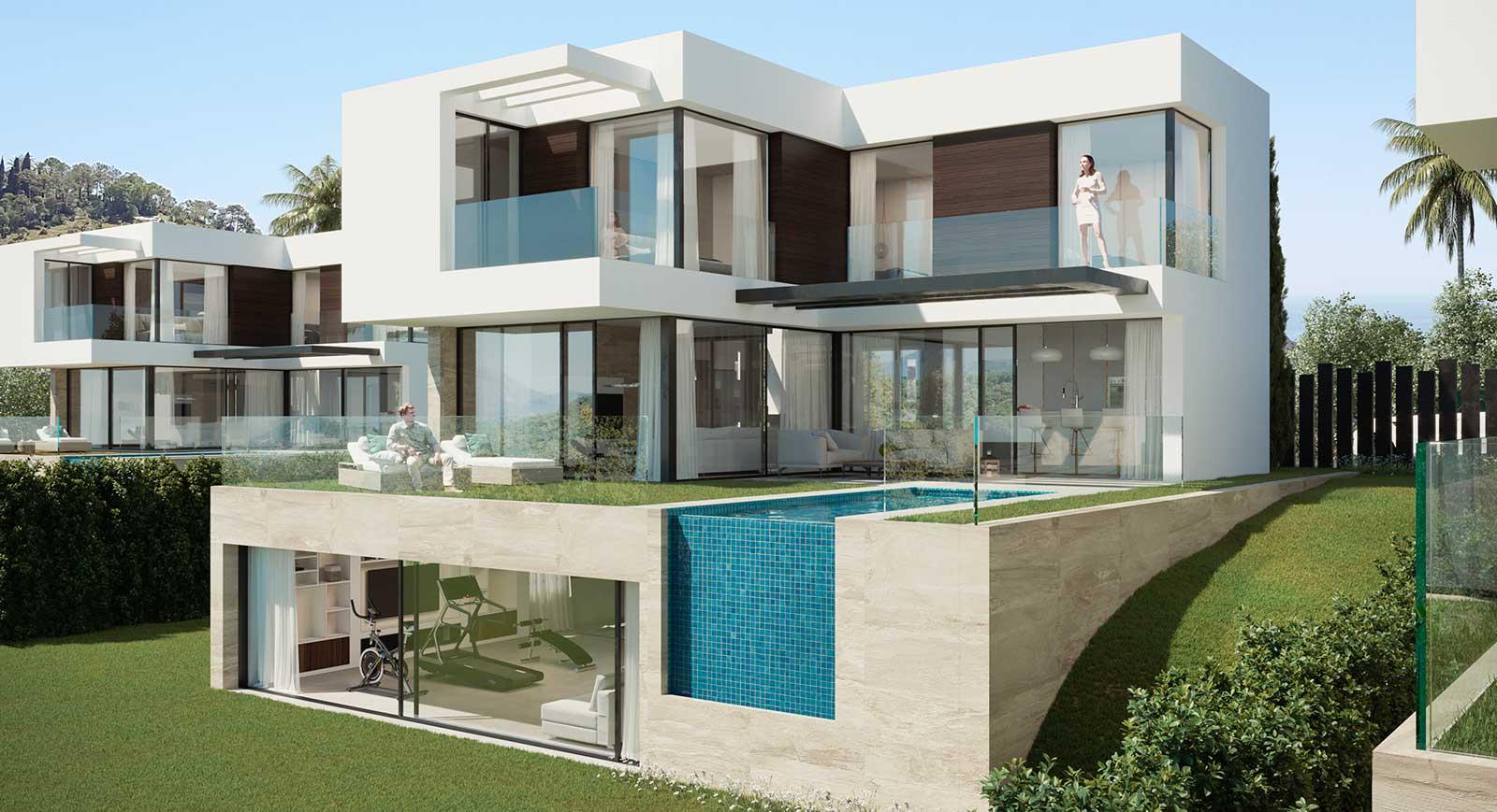 Condesa Hills: new residential complex near Sohail Castle, Fuengirola