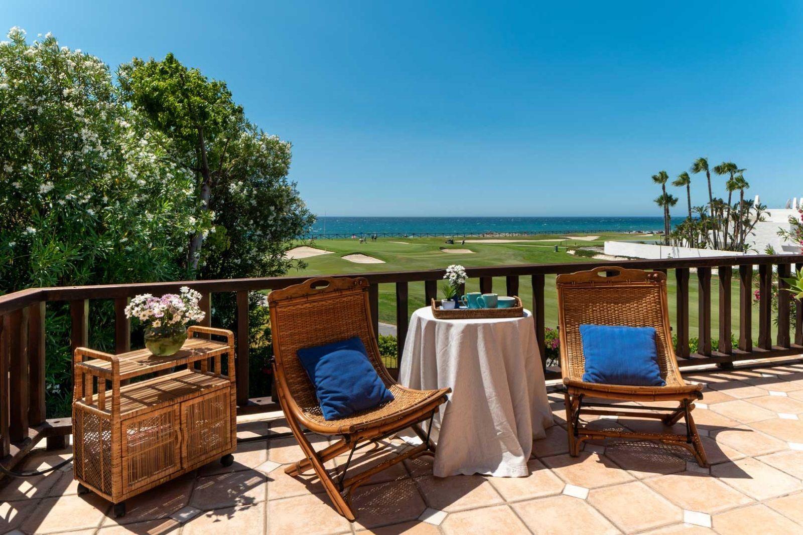 Luxury front line beach villa in Marbella